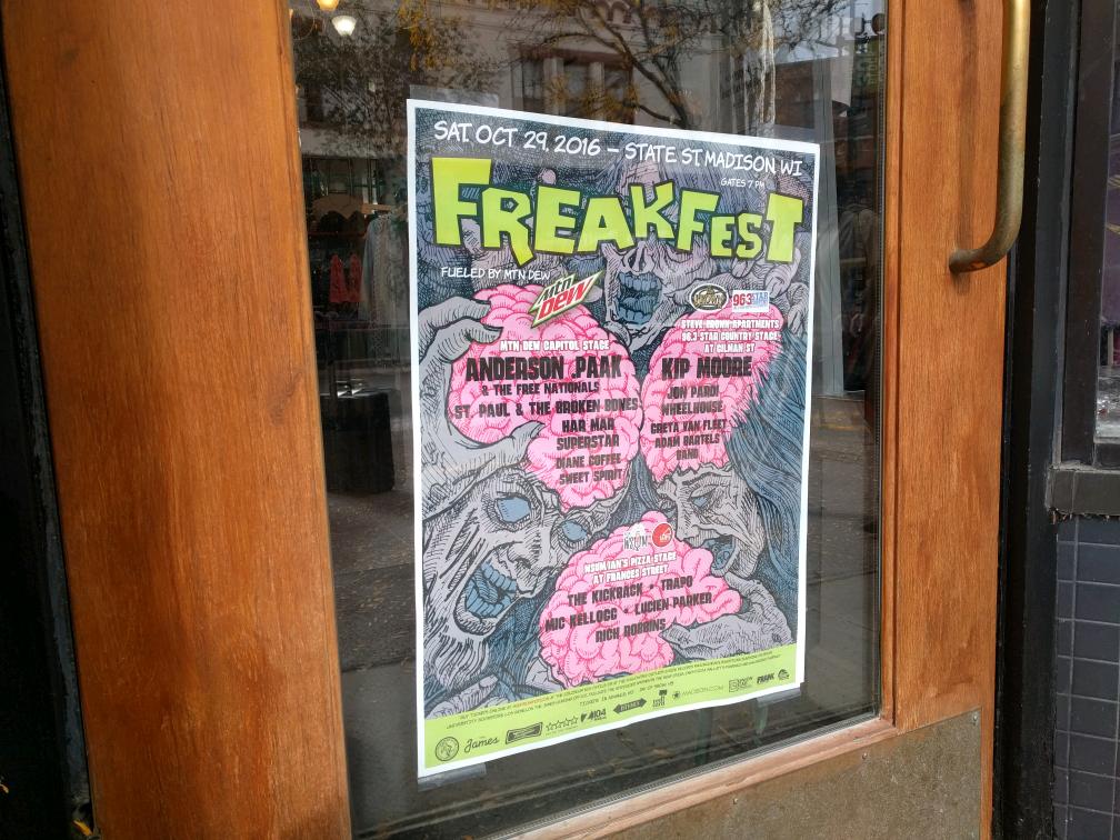 State Street businesses prepare for Freakfest 2016