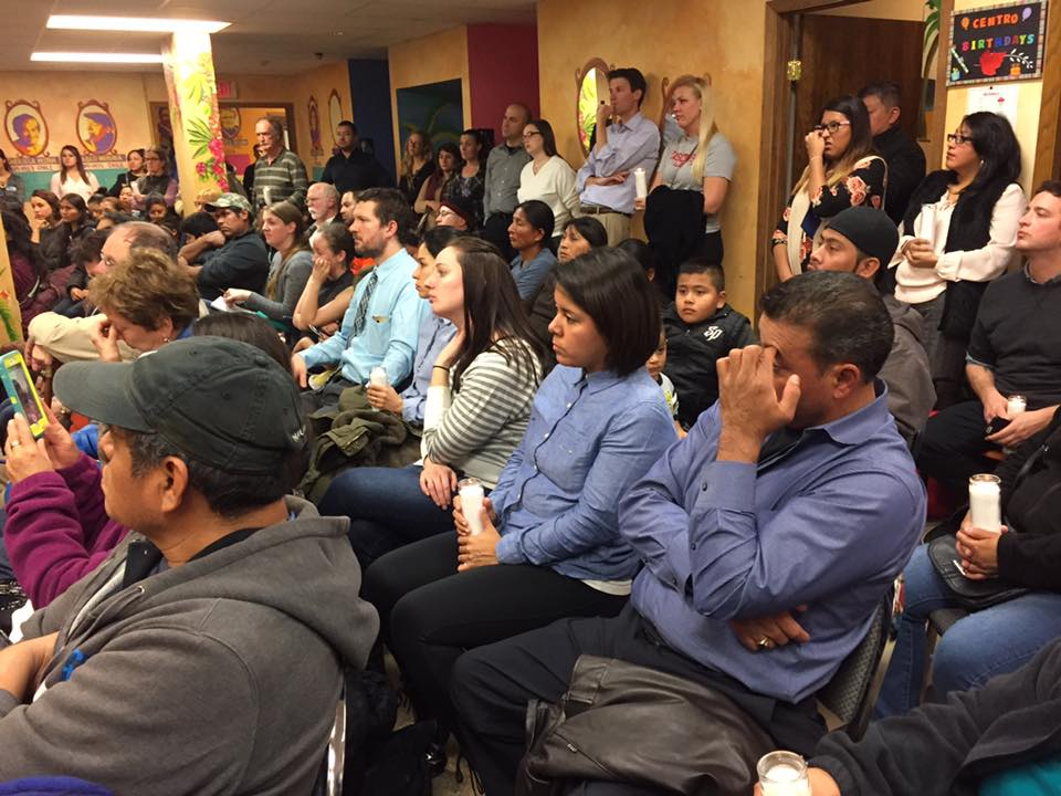 Hispanic Community Gathers to Discuss Post-Election Anxiety