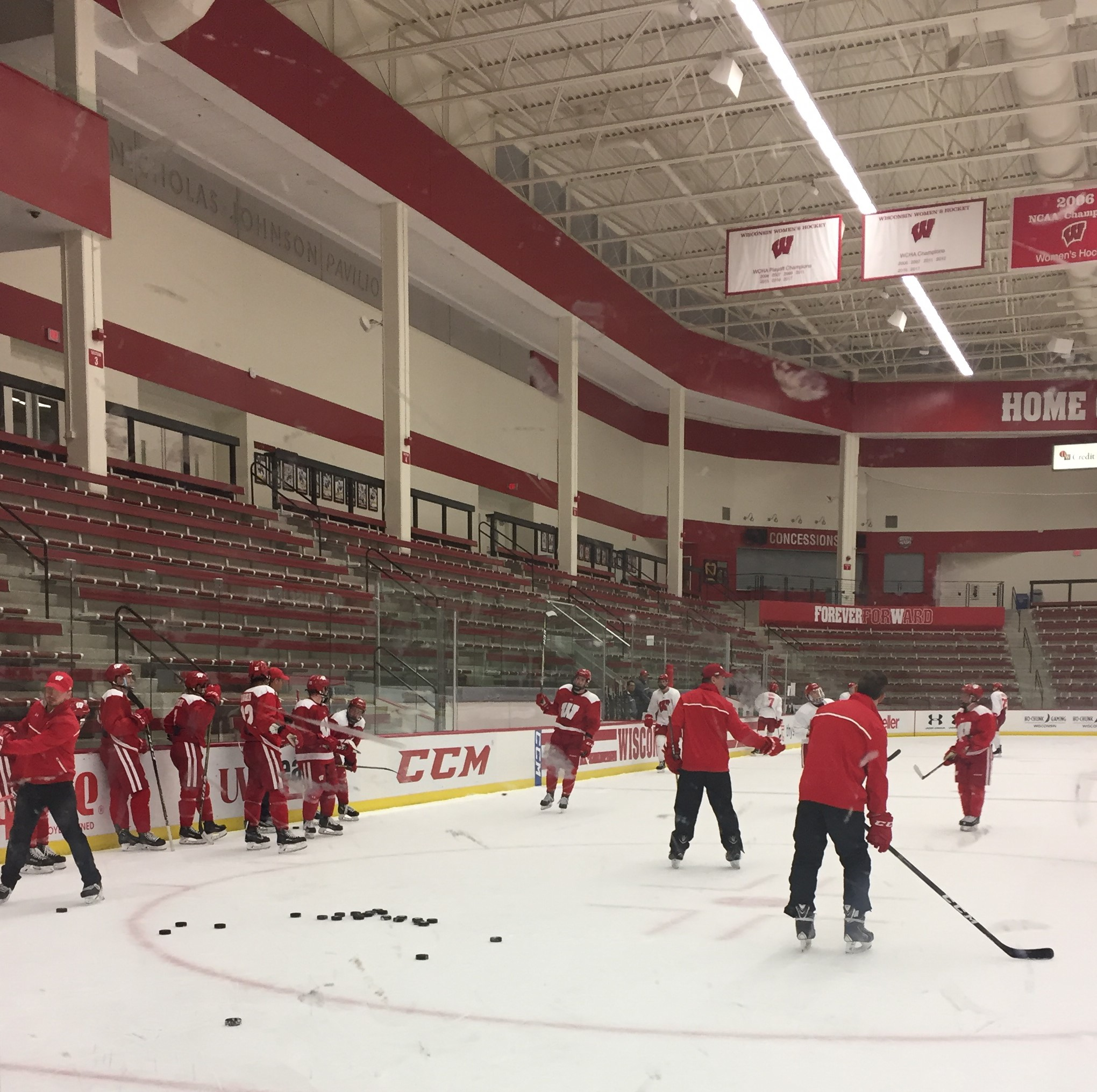 Head coach of Badger men's hockey to coach Team USA